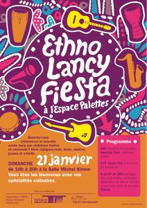 Affiche Ethno Lancy Fiesta